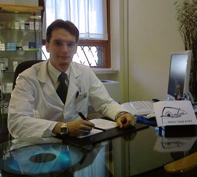 Dr. Giordano Fanton - Oculista a Biella